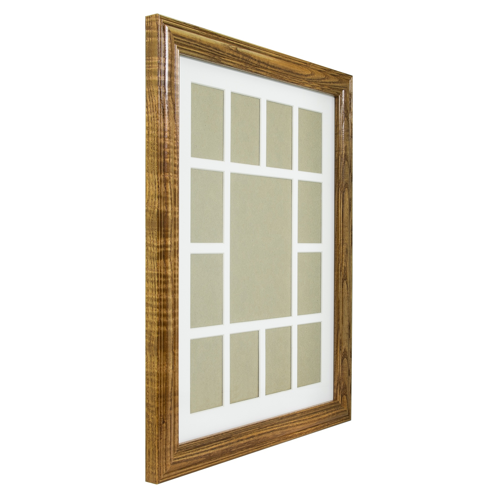 Craig Frames 12x16 Quot Brown Wood Picture Frame White