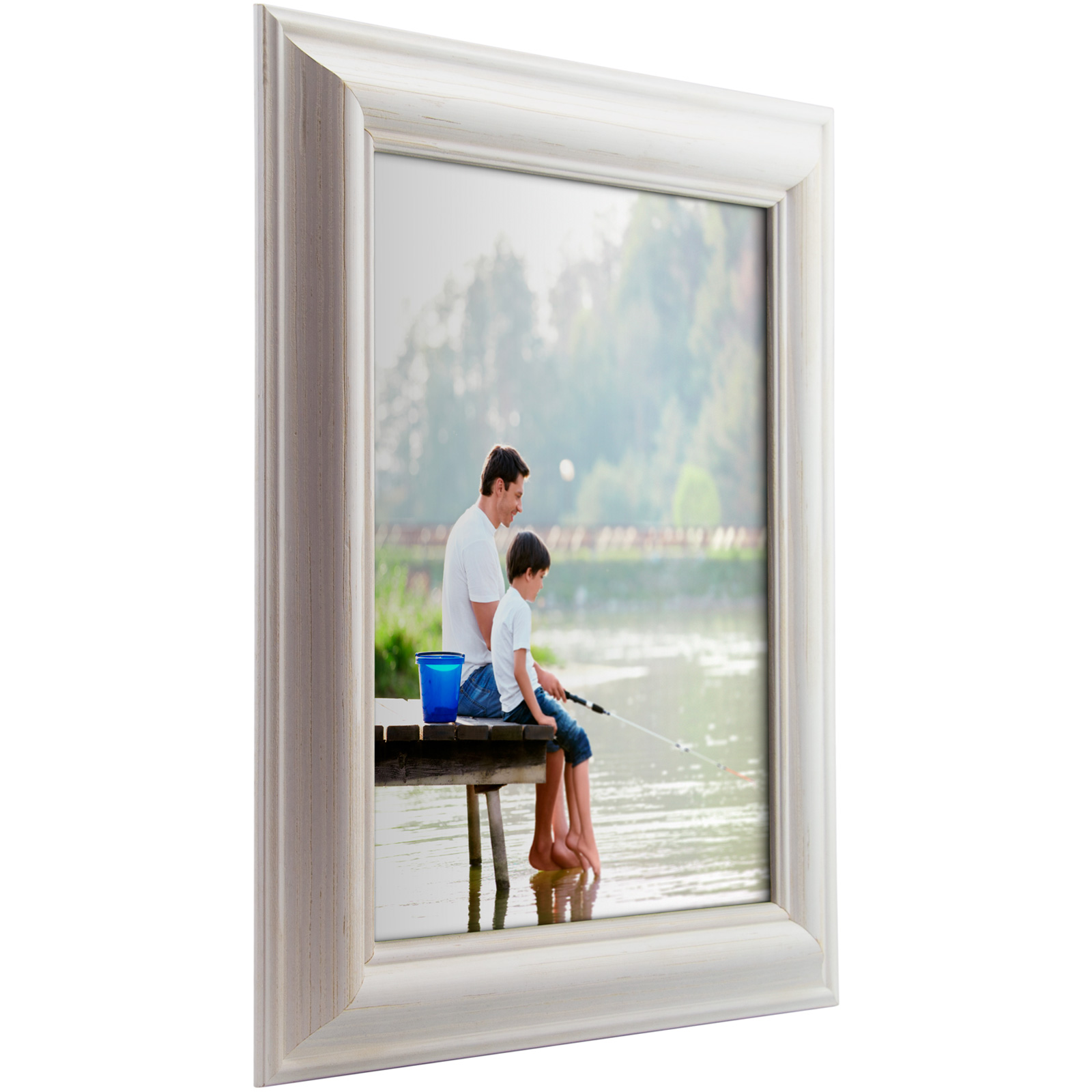 Craig frames american classic weathered white wood for American classic frames