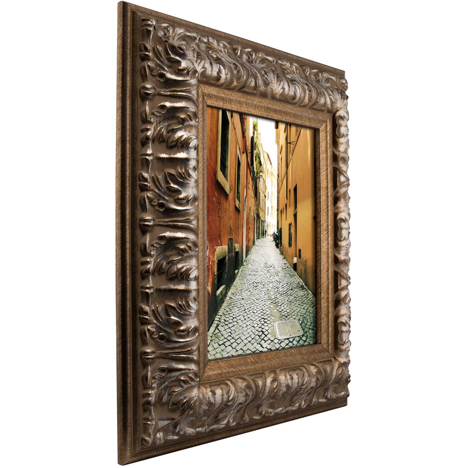 craig frames barroco antique baroque silver picture frame. Black Bedroom Furniture Sets. Home Design Ideas